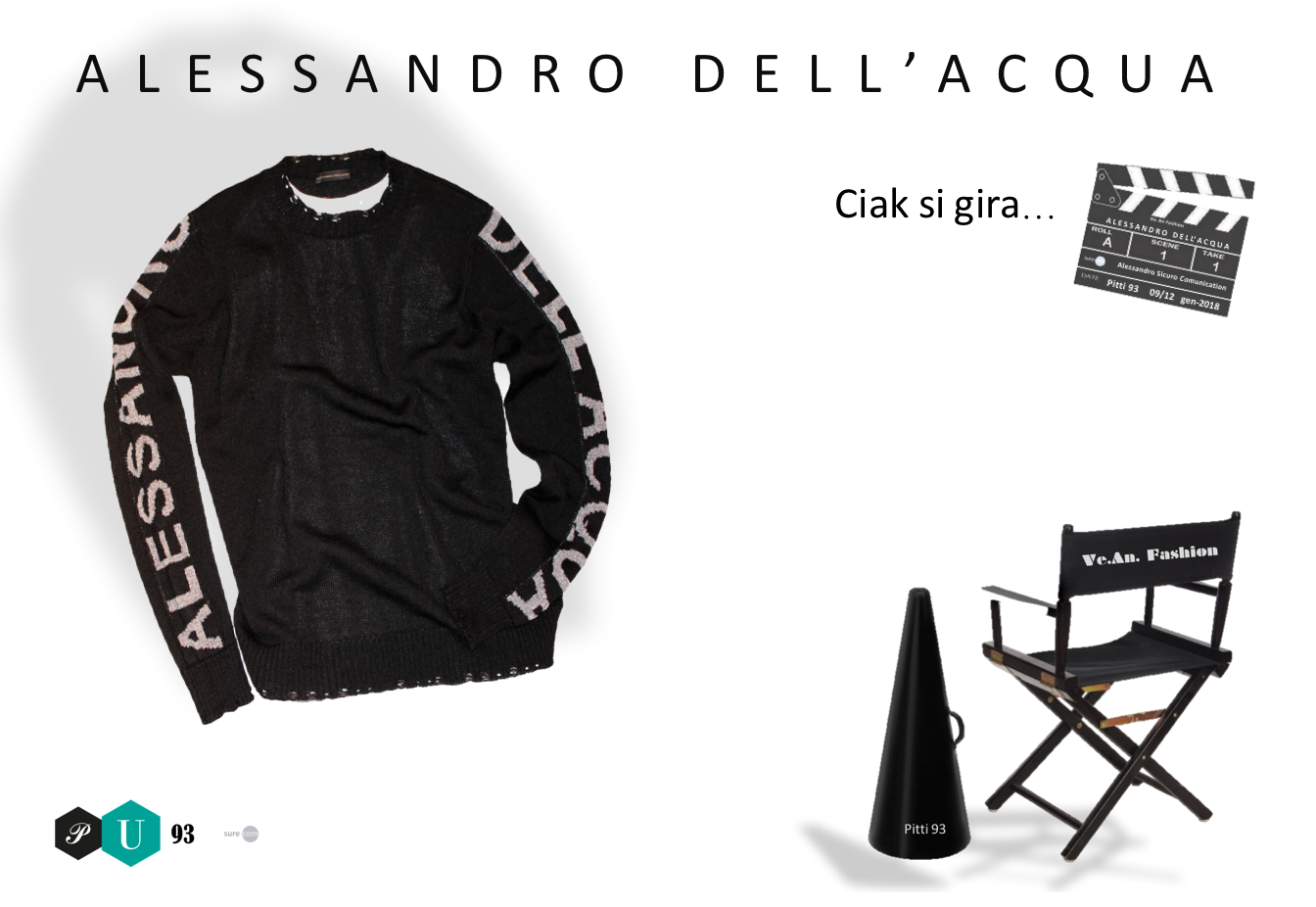 Alessandro Dell'Acqua Collection for Pitti 93